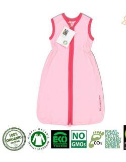 Śpiworek Organiczny GOTS Short Pink - Fuchsia 70 cm