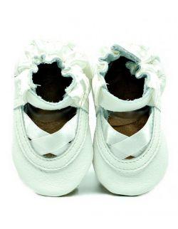 ekoTuptusie Sandałki białe baletki