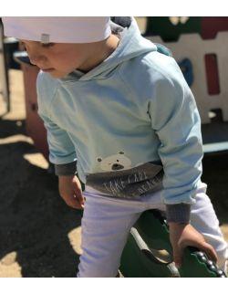 Bluza Miś baby (mięta)