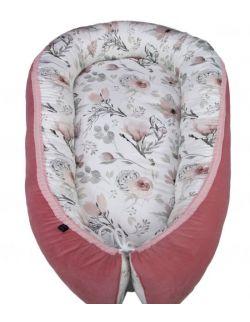 Kokon, gniazdko niemowlęce Magnolie Rose