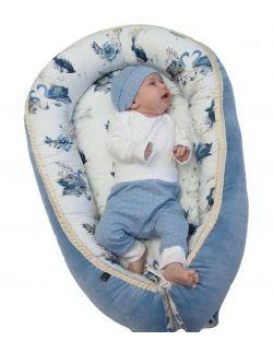 Kokon, gniazdko niemowlęce Velvet Złote Jezioro
