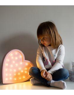 Serce Lampa Lights My Love