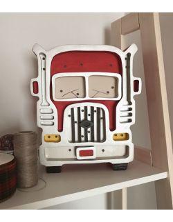 Lampka ciężarówka czerwona