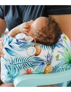 Poduszka na rękę do karmienia poduszka do noszenia Bambusowa Tukany
