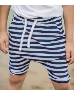 Spodnie baggy w paski