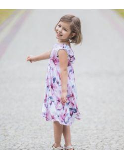 Letnia sukienka dla dziewczynki - Power of flowers