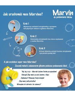 opis działania Marvina