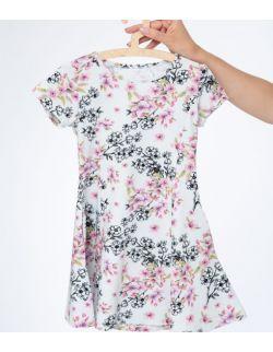 Sukienka Córka w jasne kwiaty