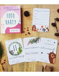 Foto Karty Pierwszego Roku - Leśni przyjaciele