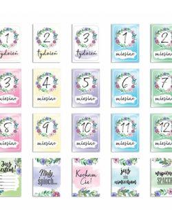 KARTY DO ZDJĘĆ - Pierwszy rok życia dziecka - Bloom