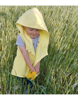 Kamizelka dziecięca-cytryna