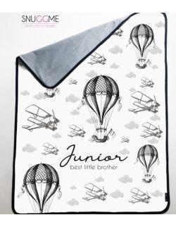 Kocyk planes balloons