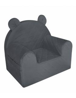 Fotelik Velvet - Dark Gray