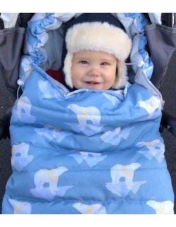 Śpiworek zimowy niemowlęcy Misie Polarne (0-12mcy)