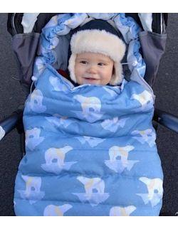Śpiworek zimowy niemowlęcy Sarenki (0-12mcy)