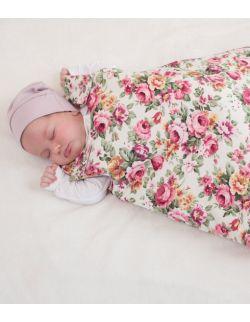 Śpiworek do spania Róże (0-9mcy)
