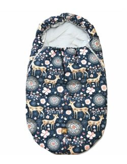 Śpiworek zimowy niemowlęcy sarenki na Granacie (0-12mcy)