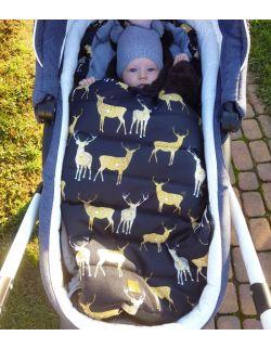 Śpiworek zimowy Sarny (toddler 12-24 mce)