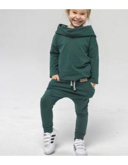 Spodnie baggy unisex - We feel green