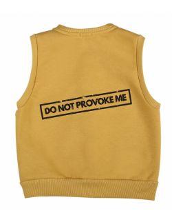 """Kamizelka z napisem """"do not provoke me"""""""