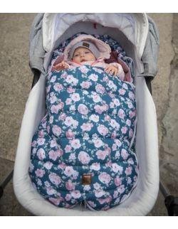 Śpiworek do wózka (newborn 0-12mcy)