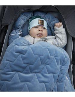 Be velvet! Śpiworek zimowy - denim (toddler 12-30mcy)
