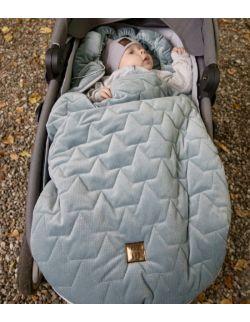 Be velvet! Śpiworek zimowy - khaki (newborn 0-12mcy)