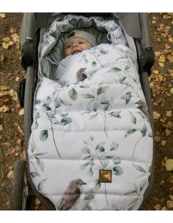 Śpiworek do wózka Sparrow (newborn 0-12mcy)