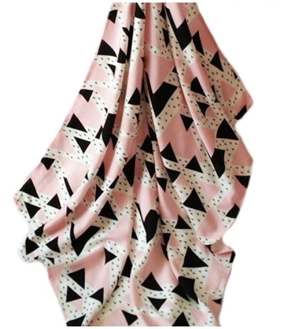 Otulacz bambusowy trójkąty 75x100cm