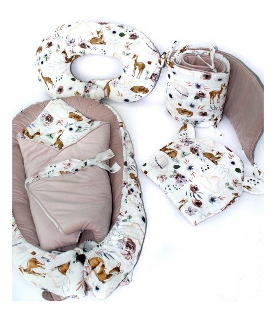 5-elementowa wyprawka dla niemowląt forest family