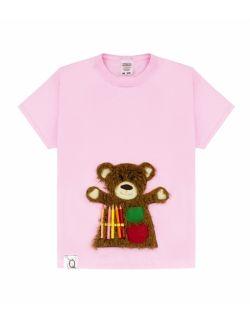 Koszulka dziecięca z aplikacją BEAR