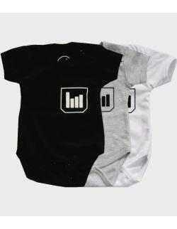 Body niemowlęce z krótkim rękawem - wykres