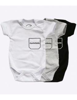 Body niemowlęce z krótkim rękawem - polishbaby