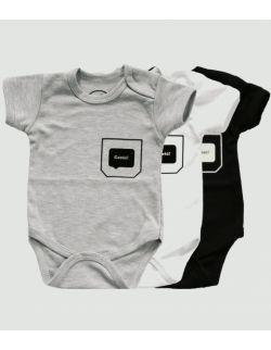 Body niemowlęce z krótkim rękawem - cześć