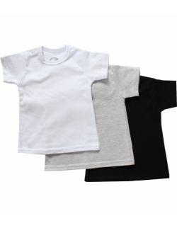 Koszulka niemowlęca z krótkim rękawem - gładka