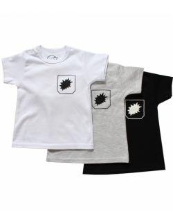 Koszulka niemowlęca z krótkim rękawem - plama
