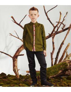 Spodnie chłopięce Dark Wood Trousers