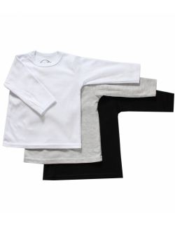 Koszulka niemowlęca z długim rękawem - gładka