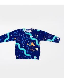 Granatowa bluza nalle