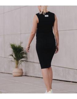 Sukienka ciążowa i do karmienia SALLY BLACK