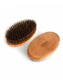 Szczotka do masażu na sucho z włosia dzika