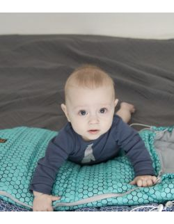 Śpiworek zimowy - Aqua (toddler 12-24 mce)