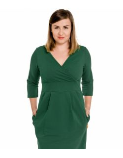 Sukienka ciążowa i do karmienia grove emerald green