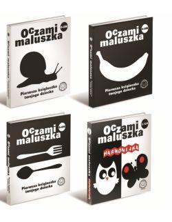 Seria 4 książeczek Oczami Maluszka