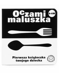 Seria Oczami Maluszka (4 książki + Karty)  Pierwsza książeczka Twojego dziecka