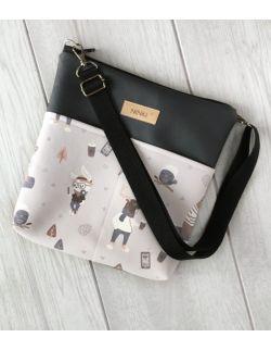torebka dla dziewczynki Ninki® ekoskóra (hipster)