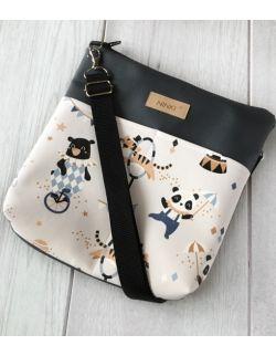 torebka dla dziewczynki Ninki® ekoskóra (cyrk)