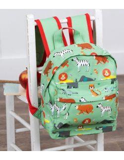 Plecak mini, Zwierzątka zielone