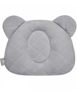 Poduszka z wgłębieniem na główkę Royal Baby Grey
