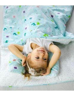 Śpiworek z ociepleniem Junior bawełna Lamy